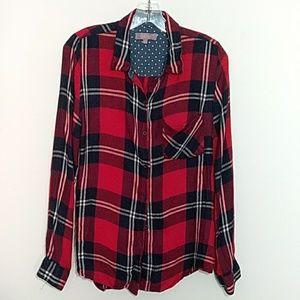 Harper Plaid Flannel Shirt